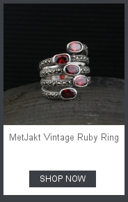 MetJakt натуральный 1 см розовый кварц с рубином кольца твердые 925 пробы Серебряное Открытое кольцо для женщин светильник Роскошные Винтажные Ювелирные Изделия