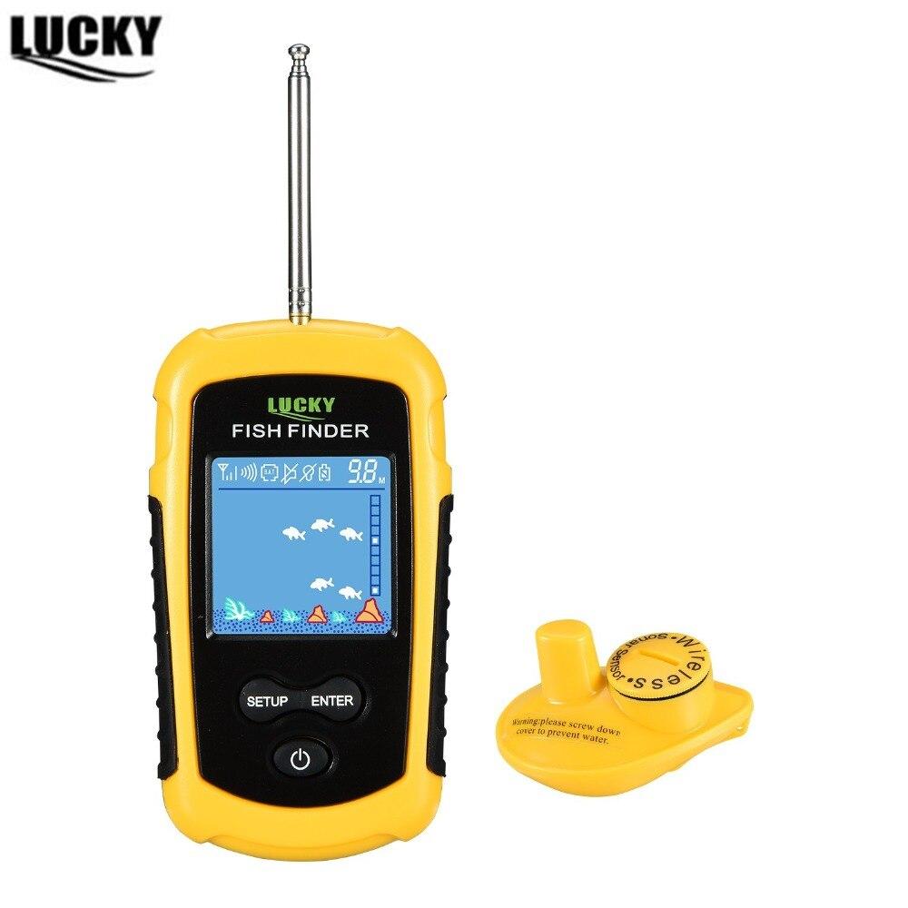 Sounder Wireless Fishfinder For Fishing 120 meters Deeper sonar sensor depth Fish Finder color lcd display