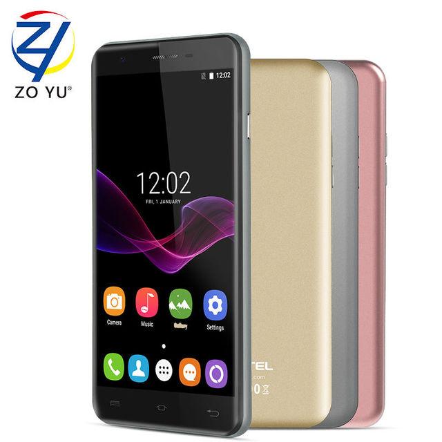 Oukitel u7max smartphone 3g wcdma android 7.0 malvavisco teléfono móvil 1g + 8g 5.5hd mtk6580a quad core 8mp 2500 mah teléfono celular