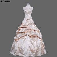 Sexy Halter Wedding Dress Sequined Beaded Elegant Wedding Dresses Taffeta Bridal Gowns Draped Pleat Chic Vestidos