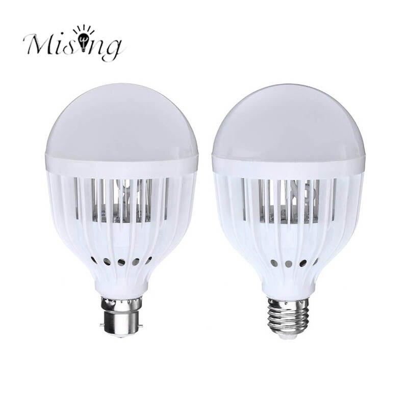 Mising E27 B22 10W AC220-240V One Lighting Mode Bug Zapper Mosquito Killer Lamp Bulb 2835 31 LEDs LED Light for Outdoor Camping