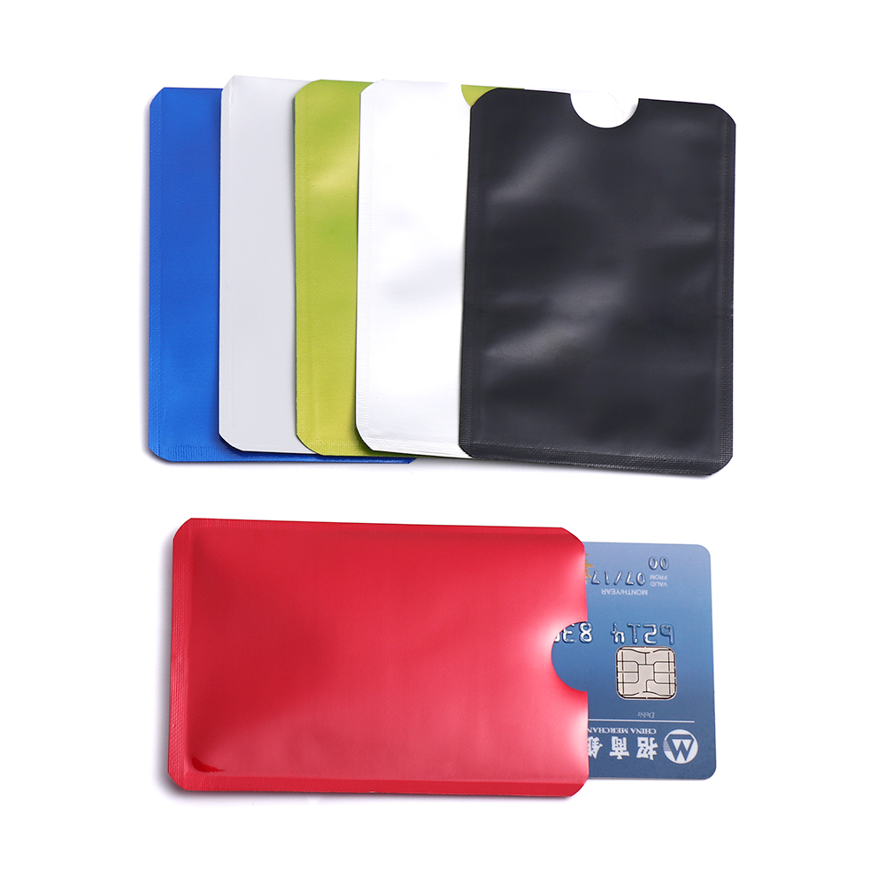 RFID Blocking Credit Card Covers ID Identity Protector Holder Anti Scan Safety