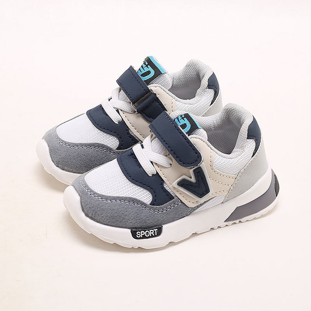 New 2018 Classic hot sales unisex girls boys shoes Spring/Autumn Hook&Loop baby first walkers cool cute baby sneakers