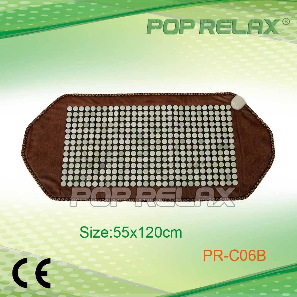 POP RELAX China jade korea health heating mat foldable PR-C06B 55x120cm CE pop relax negative ion magnetic therapy tourmaline mat pr c06a 55x120cm ce