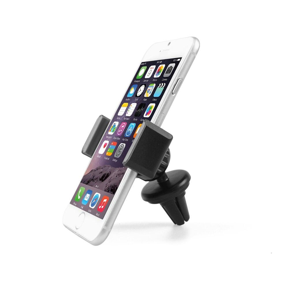 APPS2Car Unterstützung Smartphone Voiture Universel ein Gitter d'Aeration 360 Rotation Air Vent Unterstützung-Largeur entre 55-105mm