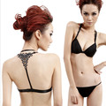 sexy backless T Diamond Gather superior quality  cup general push up bra top bralette bras for women soutien gorge