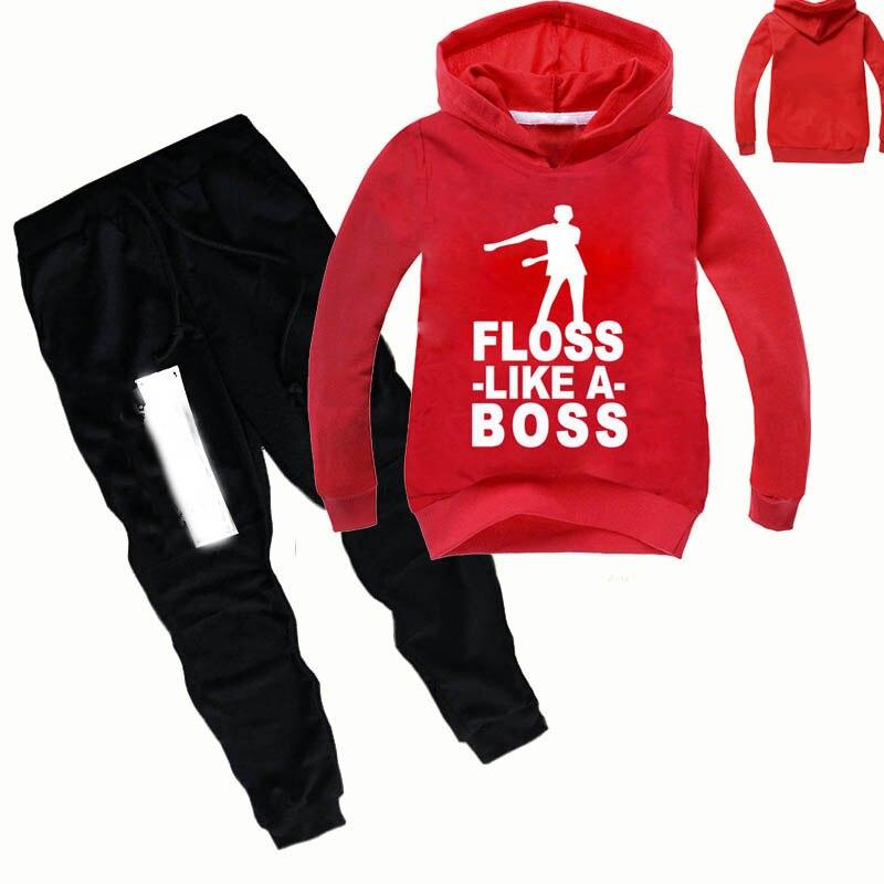 Z & Y 2-16Years 2019 Herbst Mode Kinder Herbst Kleidung Ninjago Party Hoodies Hosen Jungen Kleidung Set Mädchen Outfit Kinder trainingsanzug