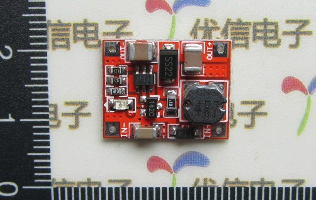 Freeshipping DC 3V to 5V USB Output charger step up Power Module usb to rs485 module black