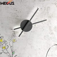(WECUS) Minute wall lamp, modern minimalist bedroom bedside creative personality warm led study hallway aisle wall lamp