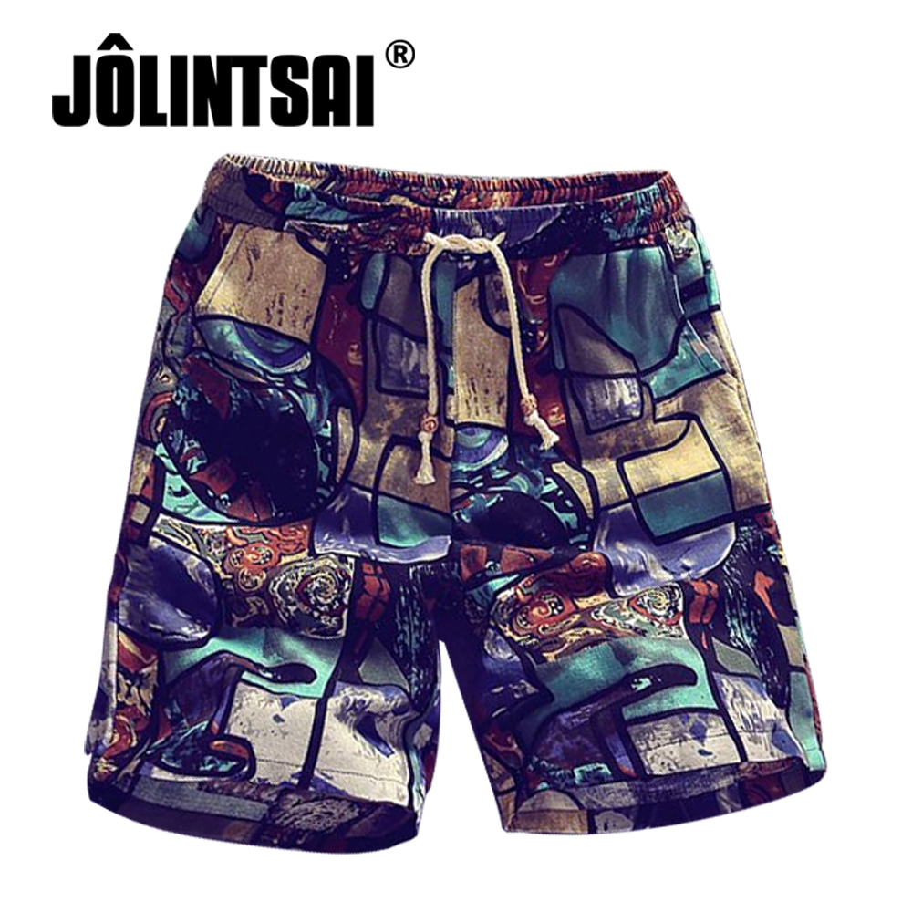 Mens Beach Shorts Printing 2017 Summer Thin Section Breathable Comfort Casual Mens Shorts Quick Drying Large Size M-4XL