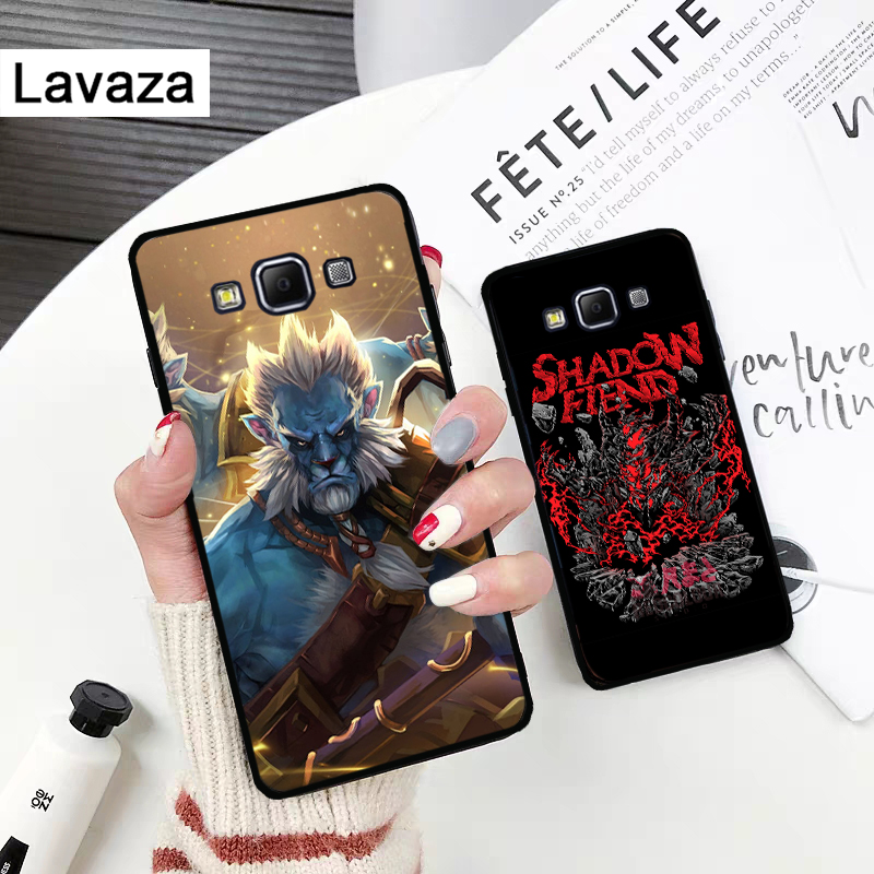 Lavaza Game dota 2 logo Silicone Case for Samsung A3 A5 2016 2017 A6 Plus 2018 A7 A8 A9 A10 A30 A40 A50 A70 J6 in Fitted Cases from Cellphones Telecommunications