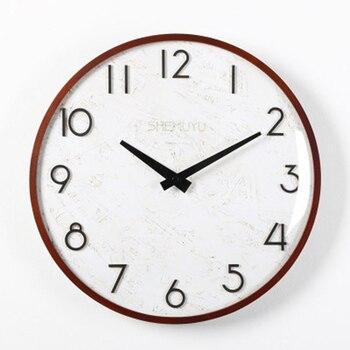 Gold Silent Digital Wall Clock Retro Large Electronic Clock Mechanism Self Adhesive Horloge Big Clocks Wall Home Decor 50ZB0005