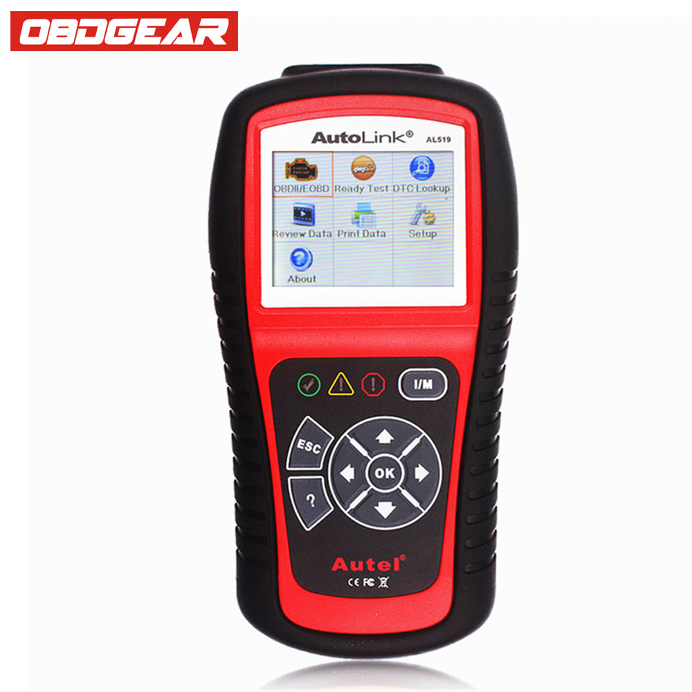 Autel AutoLink AL519 Auto Scanner OBD2 EOBD Car Code Reader Scanner Automotive Diagnostic Scan Tool Support Multi-Language vgate vc310 obdii eobd car scanner code reader vehicle diagnostic tool