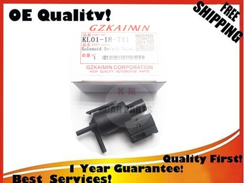 100% travail nouvelle Auto Électrovanne Vide Valve K5T49090 K5T49091 POUR MAZDA Millenia 626 Aspire KL01-18-741 KL0118741