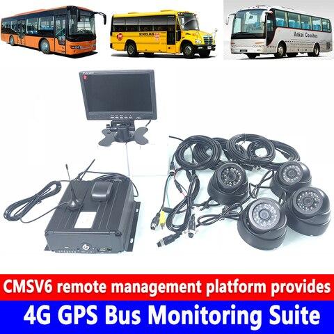 ahd720p megapixel hd pixel cartao sd de gravacao ciclica 4g gps de monitoramento de onibus