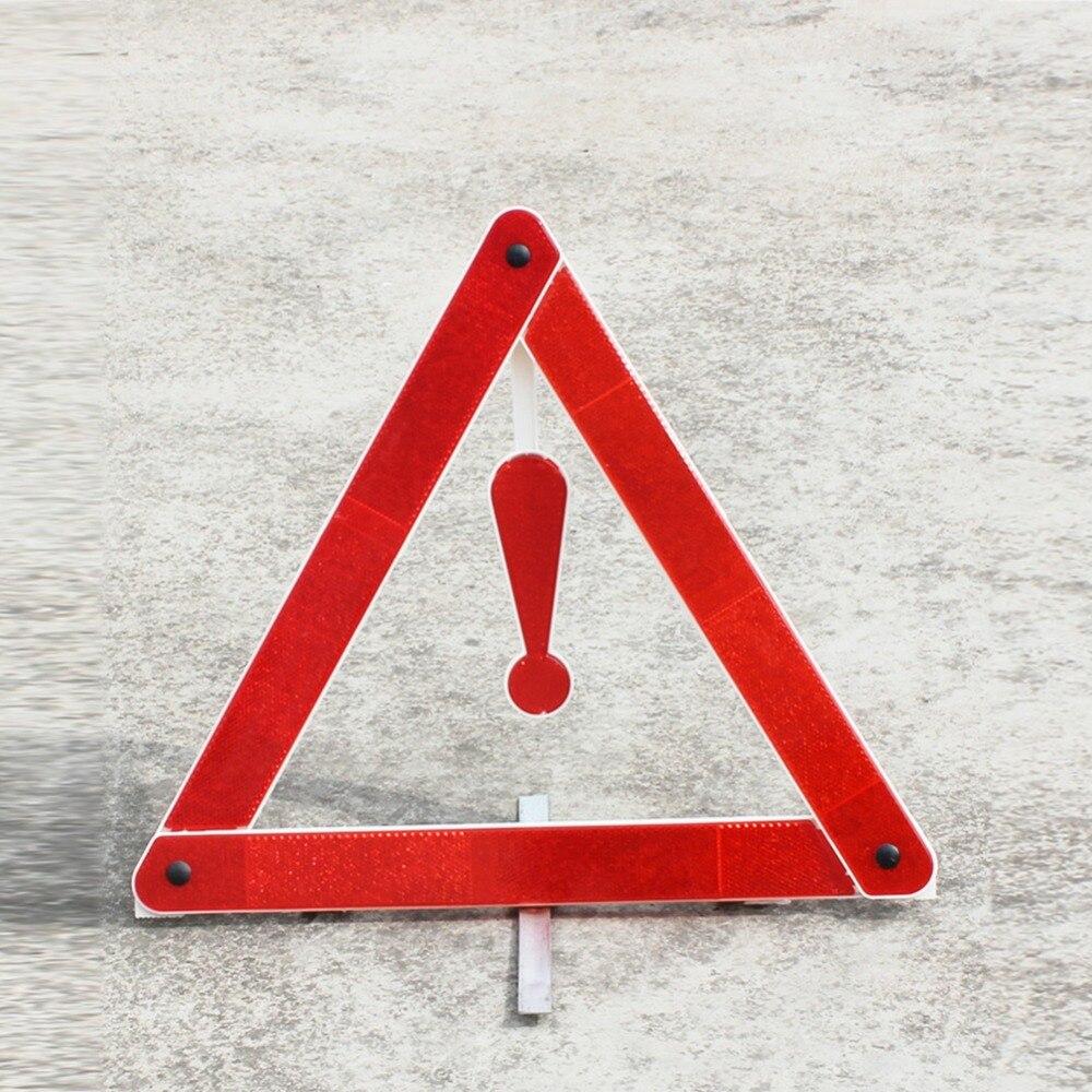 Car Rear Warning Board Stop Reflective Emergency Warning Tripod Traffic Triangle Sign Car Accessoreis