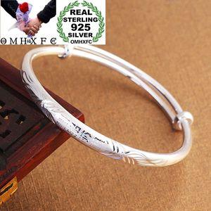 OMHXFC оптовая продажа, Европейская мода, подарок на день рождения для маленьких детей, китайские браслеты из стерлингового серебра 925 пробы, б...