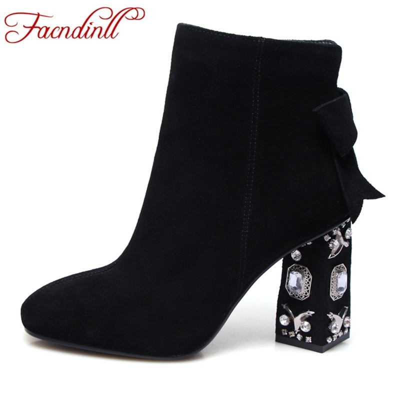 2019 New Womens Thigh High Boots Fashion Suede Leather