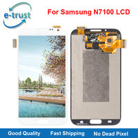 E Trust AAA Quality Lcd Display For Samsung Galaxy Note 2 N7100 Touch Screen Digitizer Assembly