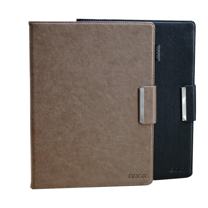 Original pour Onyx Boox Max2 étui intégré étui en cuir d'origine pour MAX2 MAX 2 Ebook étui Top vente couverture