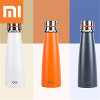 Xiaomi Kkf 475ml Car Vacuum Cup Stainless Steel 24h Long lasting Insulation Bottle Camping Portable Water Bottle