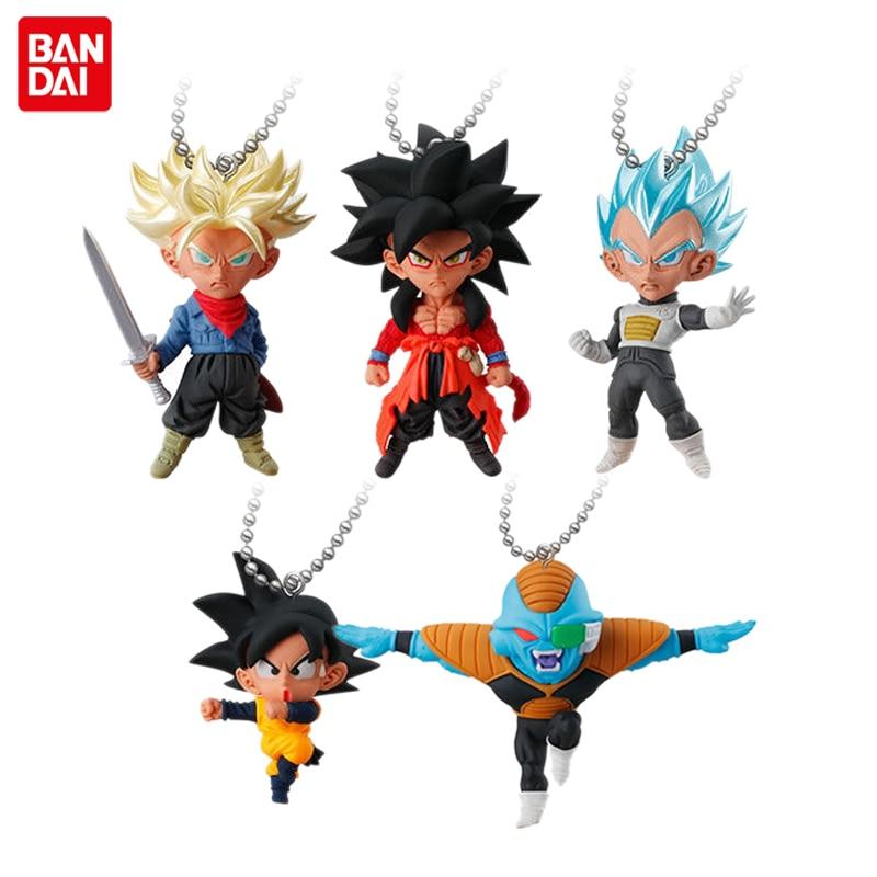 BANDAI Gashapon PVC Toy Figure UDM BURST 32 Set of 5 PCS Son Goku Vegeta Trunks Goten Burter From Dragon Ball Super
