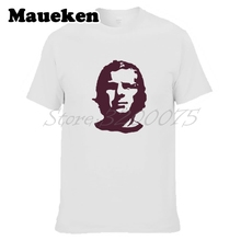 Men BOBBY MOORE 6 WEST HAM Legend england Che Guevara style T-shirt Clothes  T