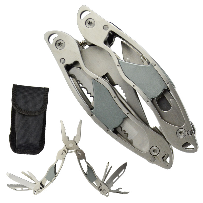 KSHIELD Outdoor Multitool Pliers Repair Pocket Knife Screwdriver Set Hand Multi Tool Mini Folding Portable Fishing Tool