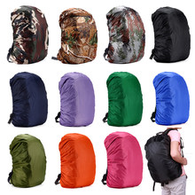 45L Lightweight Nylon Water-resistant Waterproof Backpack Rain Cover Raincoat For Camping Hiking Travel Outdoor 35 45 55 70 80L(China)