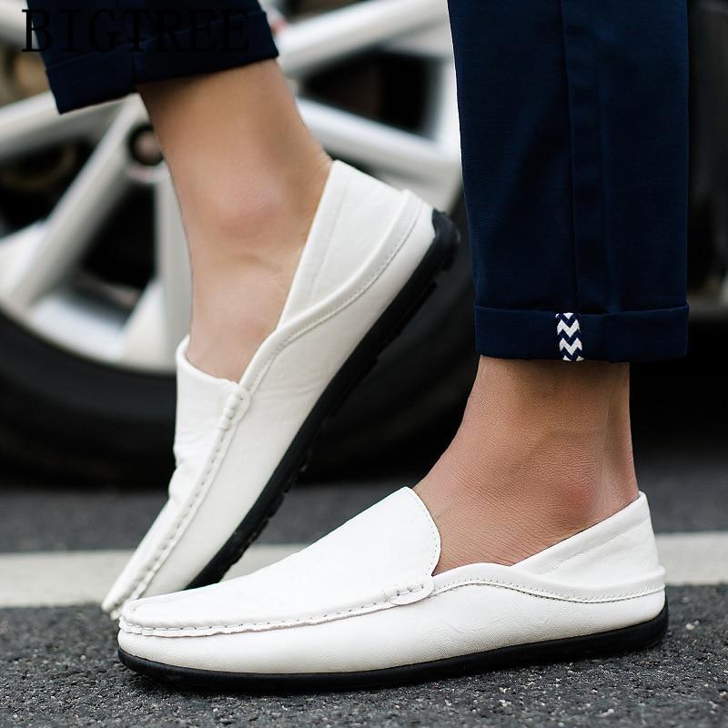 Shoes Men Loafers Mocasines Casual Brand for Luxury Chaussure Homme Hombre Erkek Ayakkabi