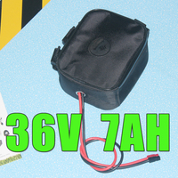 36V lithium ion battery down tube electric bike 500W battery Pack bafang bbs02 battery