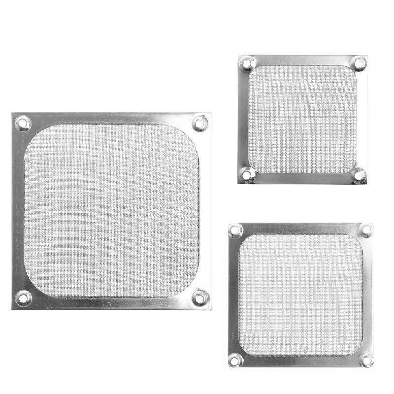 Computer-gehäuse & Türme Metall Staubdicht Mesh Staubfilter Net Schutz 12 Cm/9 Cm/8 Cm Für Pc Computer Case Kühlung Fan Schrumpffrei