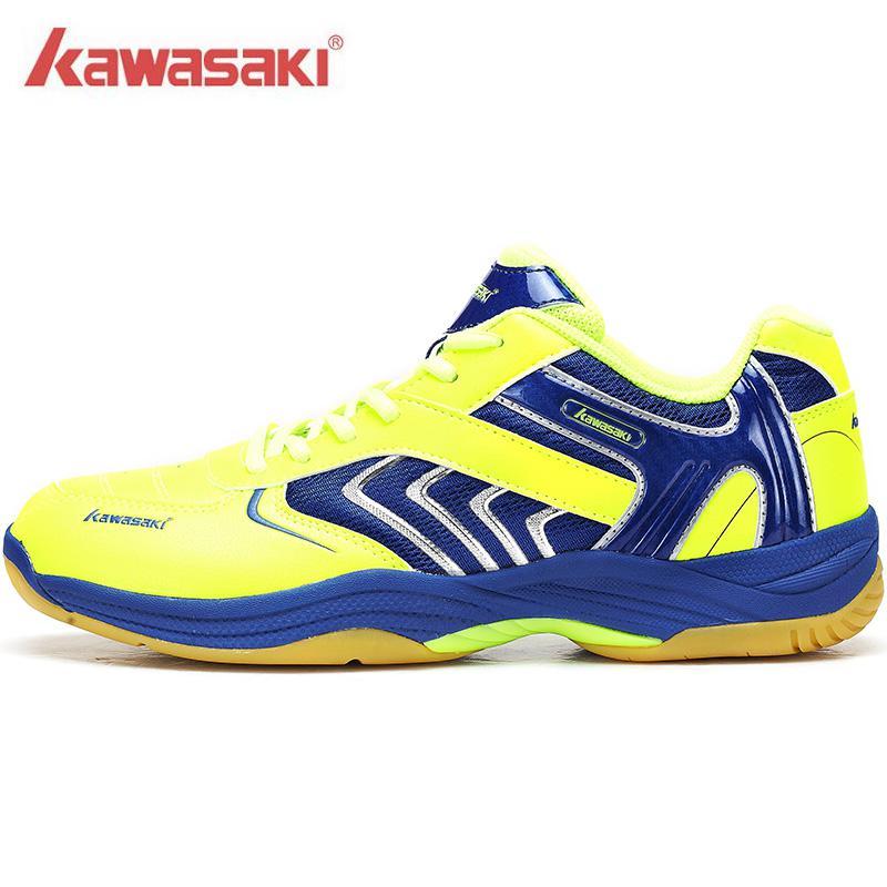 New Kawasaki Badminton Shoes Men And Women Children Zapatillas Deportivas Anti Slippery Breathable For Lover