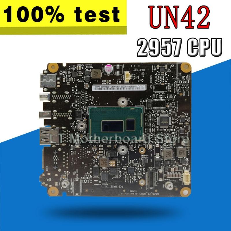 UN42 Motherboard 2957 CPU HM70 For ASUSUN42 Laptop motherboard UN42 Mainboard UN42 Motherboard test 100% OK цена