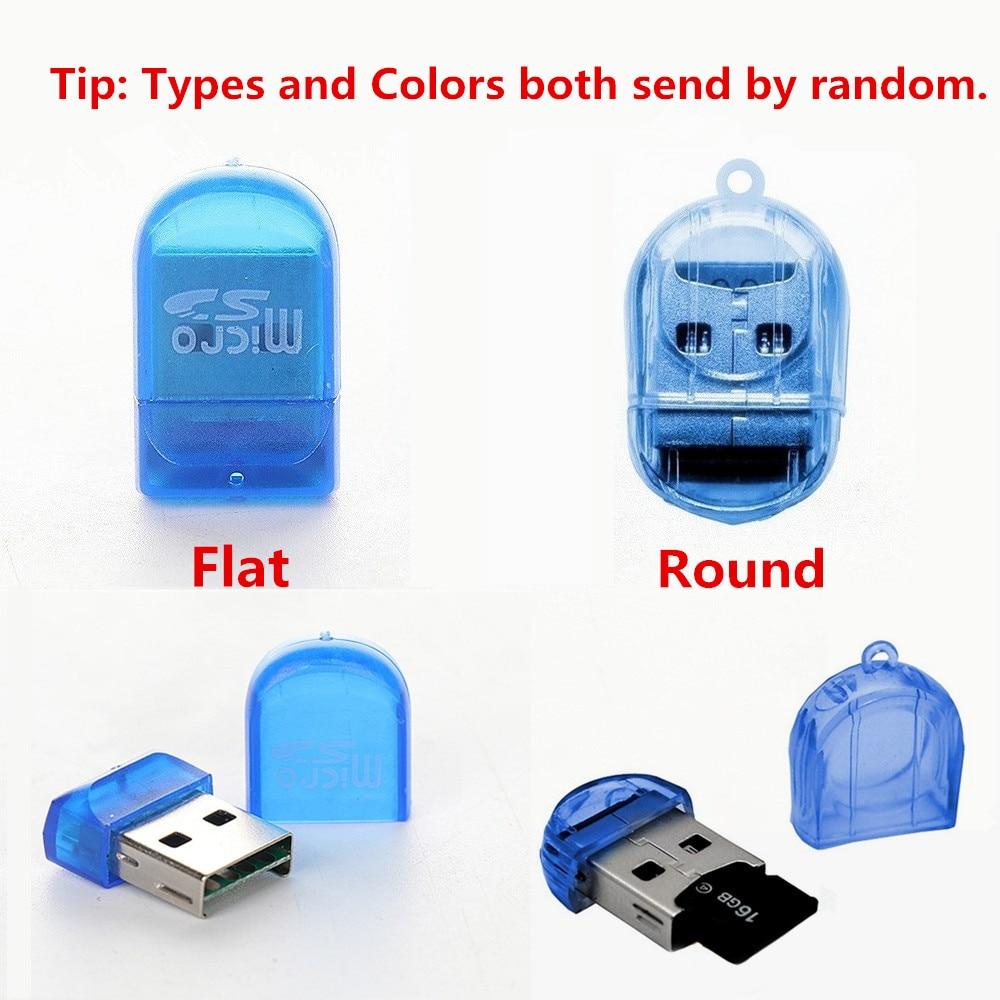 Image 5 - MINI USB 2.0 TF Nano Micro SD SDHC SDXC Memory Card Reader Writer USB Flash Drive Memory Card Readers Random Color-in Card Readers from Computer & Office