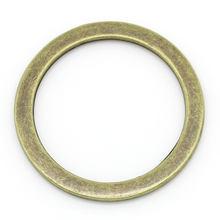 Anéis de salto fechado bronze antigo 3.3cm (1 2/8
