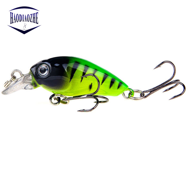 Mini Crankbait Fishing Lures 4cm 3.5g Pesca Minnow Hard Bait Isca Artificial Lures Swimbait Fish Japan Wobblers Fishing Tackle