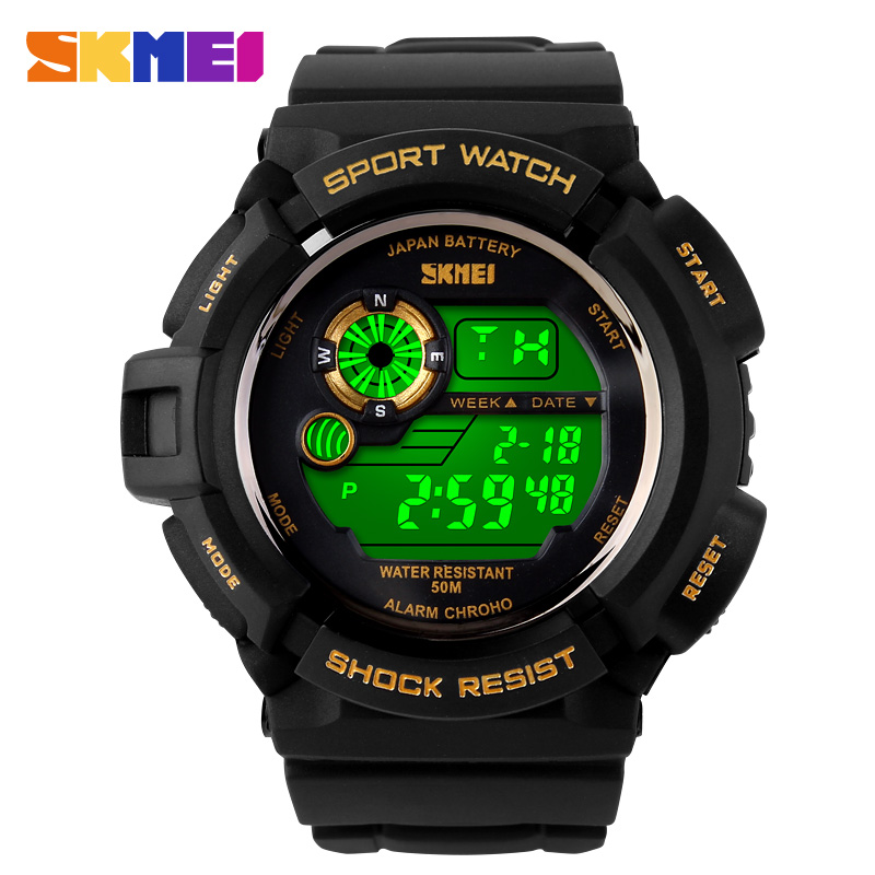 2016 G Style Quartz Digital Camo Watch font b Men b font Dual Time Man Sports