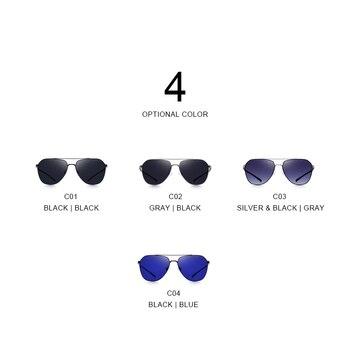 MERRYS Classic Pilot Sunglasses  4