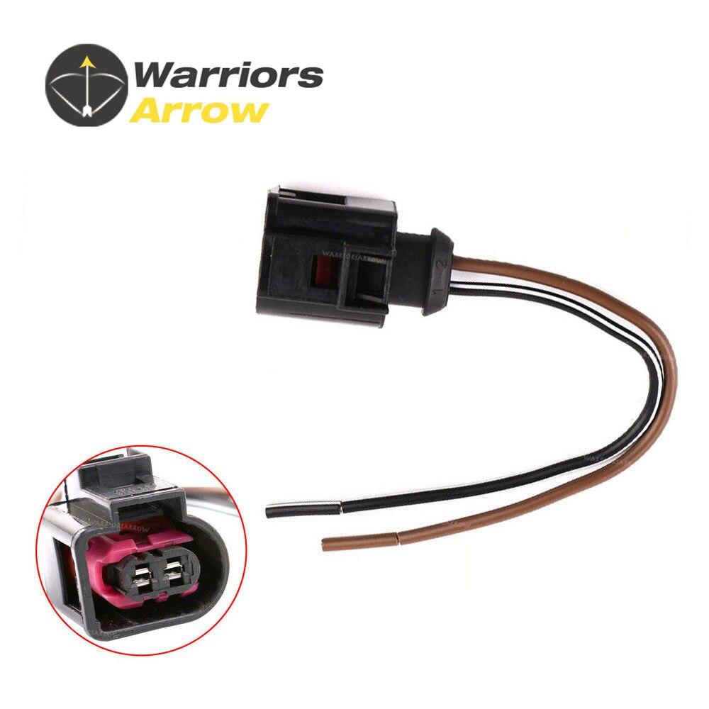 Online Shop Citall New 1j0973702 Electrical Harness 2 Pin Connector Audi Q7 Headlight Wiring 4d0971992 For Volkswagen Passat Golf Jetta A3 A4 A5 A6 Tt Engine