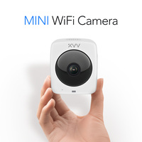 2.8mm lens Dome IP Camera 1080P Security Indoor panoranic Ipcam Day/Night View Home H.265 CCTV Surveillance Cameras