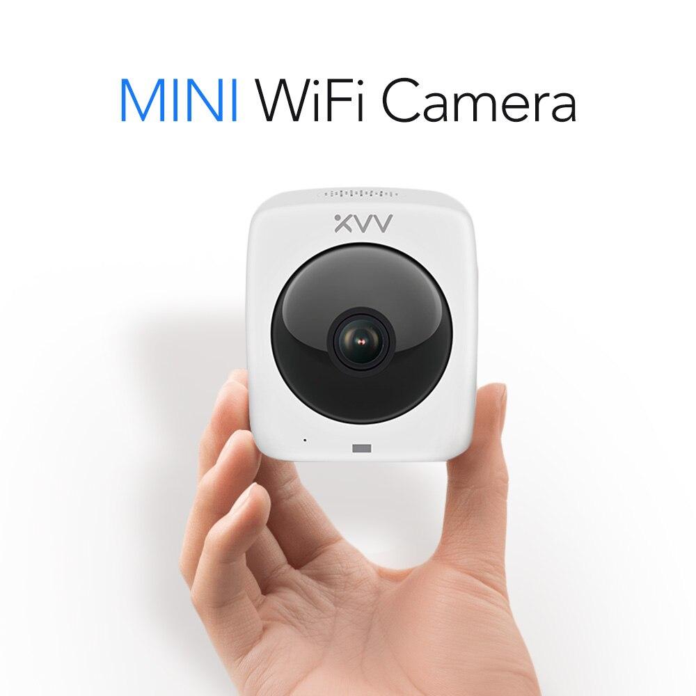 2,8mm lente Domo IP Cámara 1080 P seguridad interior panorámica Ipcam día/noche vista hogar H.265 CCTV vigilancia las cámaras-in Cámaras de vigilancia from Seguridad y protección on AliExpress - 11.11_Double 11_Singles' Day 1