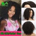 7а afro kinky вьющиеся полный шнурок человеческих волос парики для чернокожих женщин glueless полный шнурок перед парики с ребенком волос человеческие волосы кудрявые парики