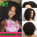 7a afro kinky curly full lace human hair wigs for black women glueless full lace front wigs with baby hair human hair curly wigs