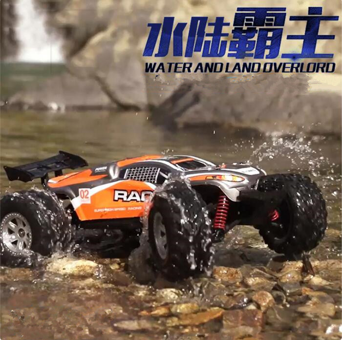 FY-10 1/12 40KM/H water land High Speed Amphibious RC Cars 4WD High-performance Short Course RC Off-road Racing Truck vs BG1513 wltoys 12402 rc cars 1 12 4wd remote control drift off road rar high speed bigfoot car short truck radio control racing cars