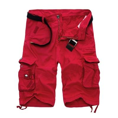 Military Cargo Shorts Men Summer Camouflage Pure Cotton Brand Clothing Comfortable Men Tactical Camo Cargo Shorts 7