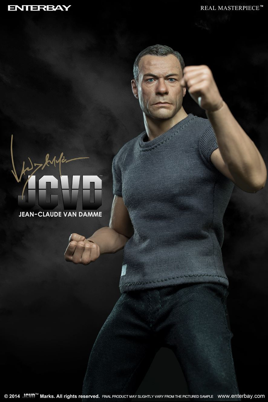 Enterbay 1/6 scale doll model 12 Action figure doll,Jean-Claude Van Damme JCVD,Collection model toys