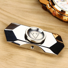 EDC Fidget Hand Spinner Focus Toy Steel Tri-spinner with 688 Hybrid Ceramic Bearing Educational Toys Anti Stress for Autism ADHD