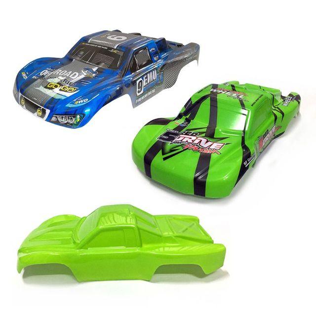 2020 New HQ 727 PVC Car Shell Surface Body M0280 for 1/10 4X4  Slash Case
