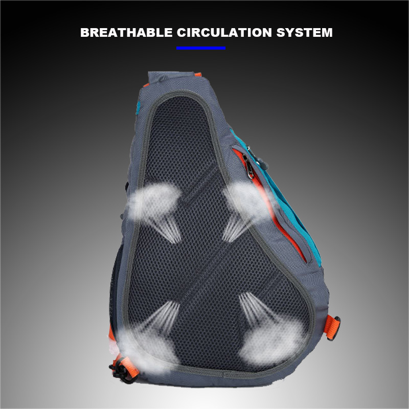 New Casual Men Women Sports Chest Bag Outdoo Hiking Bag Nylon Waterproof Running Bag Cycling Travel Bags Shoulder Messenger Bags in Running Bags from Sports Entertainment